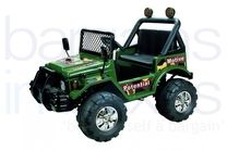 12V Jeep Styled Ride On Car - Green