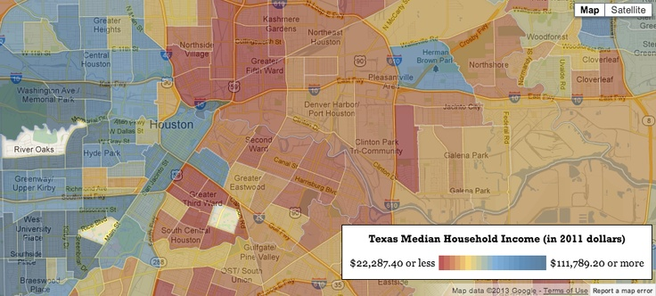 Houston community tops the list of the richest zip codes in Texas