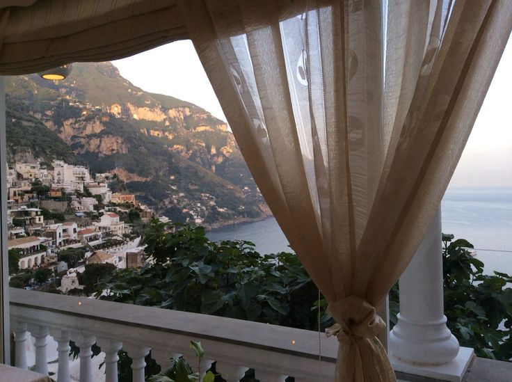 Most beautiful placed I have been.  Positano, Italy taken from Conca d'Ora restaurant.