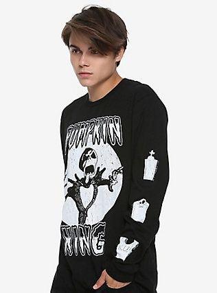 The Nightmare Before Christmas Pumpkin King Long-Sleeve T-Shirt Hot