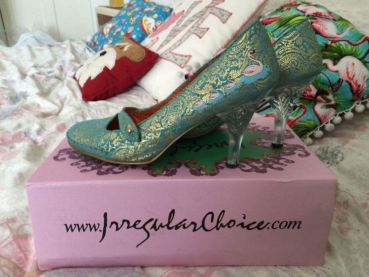 Irregular Choice Swan Shoes Size 6
