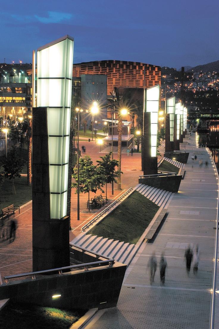 Paseo Abandoibarra, Bilbao.