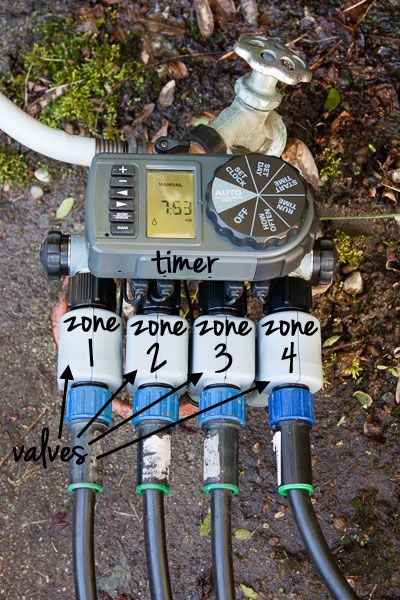 detailed post on installing a drip irrigation system