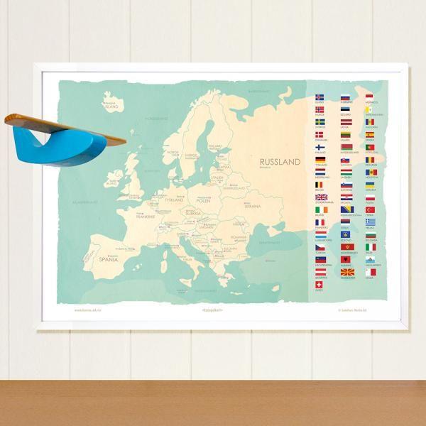 Europe map