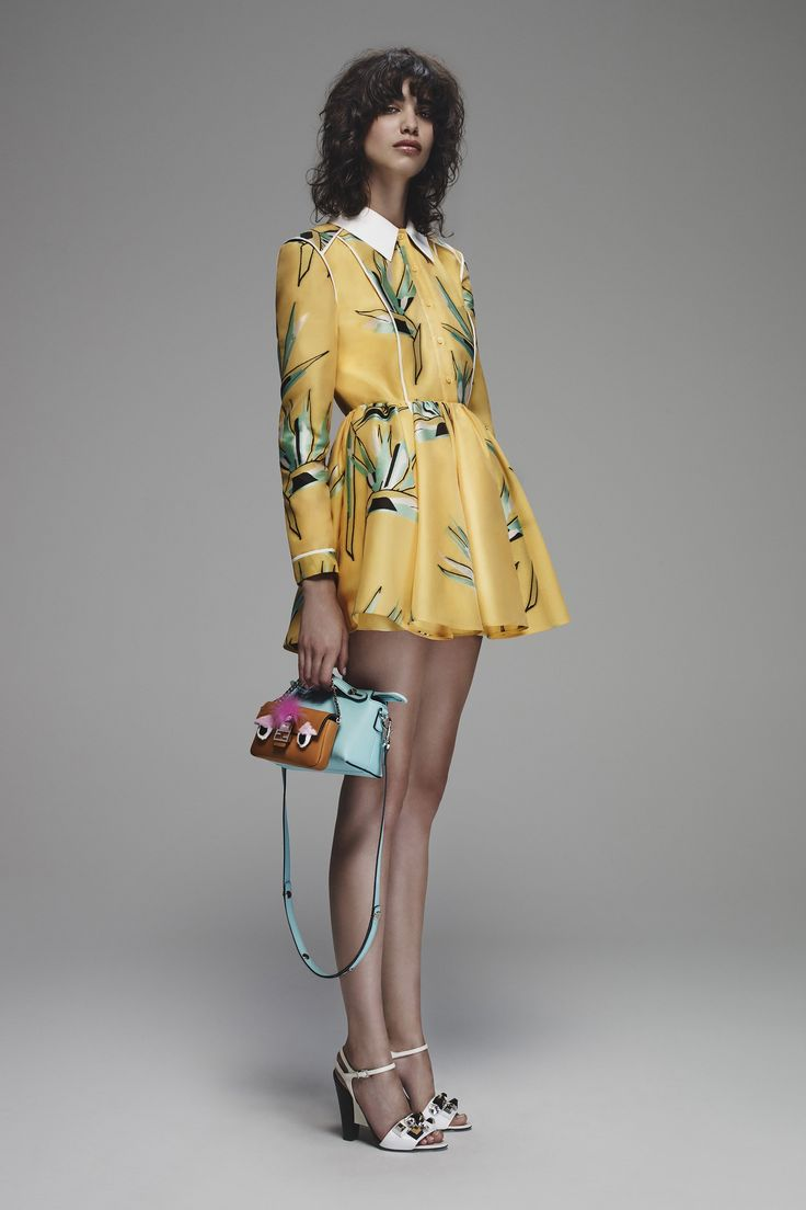 Fendi Resort 2016 Runway