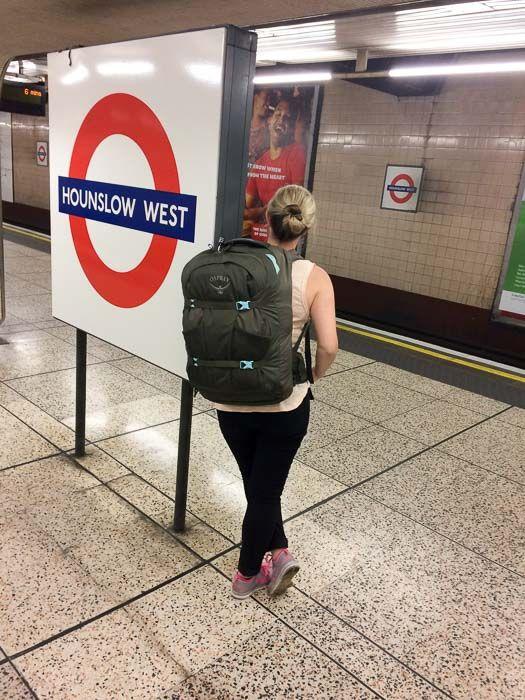 Rucksack - 40L  Schon lange gibt es den ein oder anderen sinnvollen Handgepäck Rucksack – nun gibt es endlich auch einen speziell für uns Frauen! Ich habe ihn getestet...