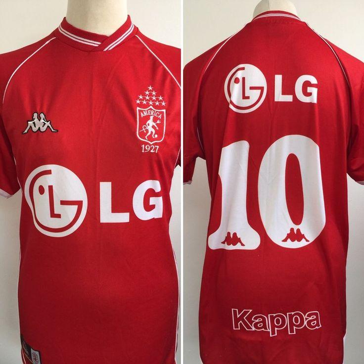 Vintage America De Cali Football Shirt Kappa No 10 Size Medium  | eBay