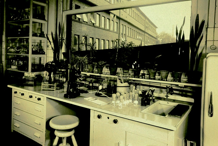 The laboratory in Elberfeld where Professor Gerhard Domagk discovered the therapeutic effect of sulfonamides.