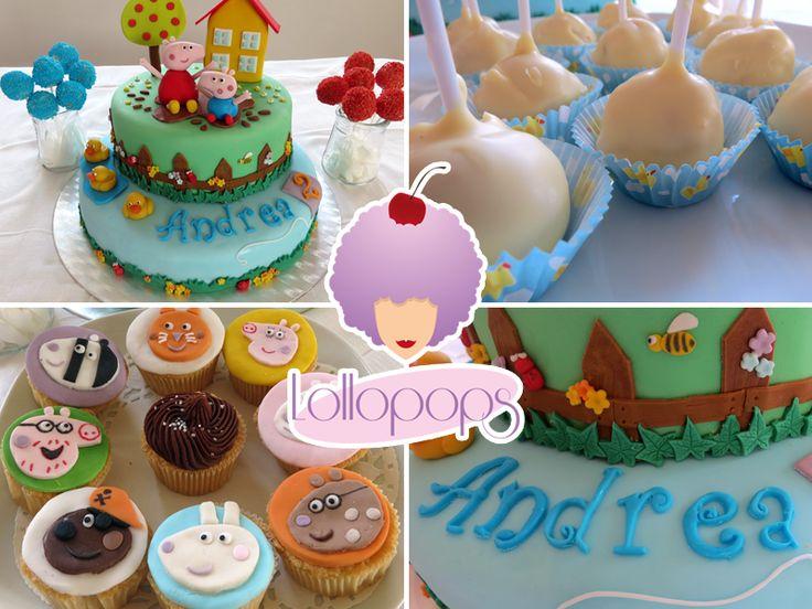 Détails Cake Peppa