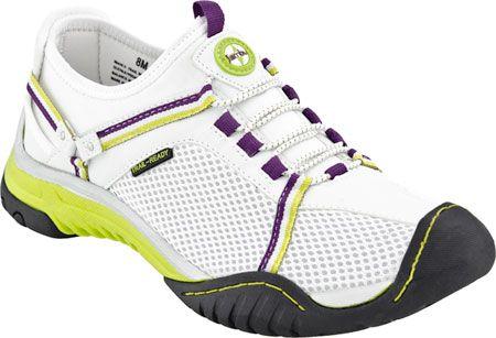 Jambu Bianca Trail Ready in White/Kiwi/Purple from PlanetShoes.com