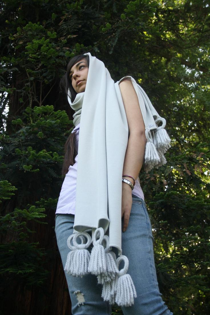 pearl gray shwal silk #shawl #marinafinzi #shop.marinafinzi.com