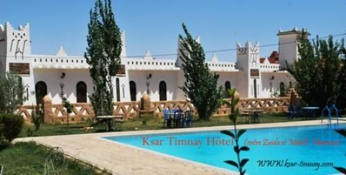 Ksar Timnay Hotel Morocco great deal Ksar Timnay Hotel in Morocco, Midelt (Notional road number 13, between ZAIDA (9km) and MIDELT (19km) is offering a great deal of 2 nights for 2 persons in a suite room or a duplex room + 01 Bed for child + Breakfast, Welcome Soft drink, free