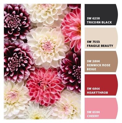 How To Pick A Color Palette For Your Entire Home Wedding