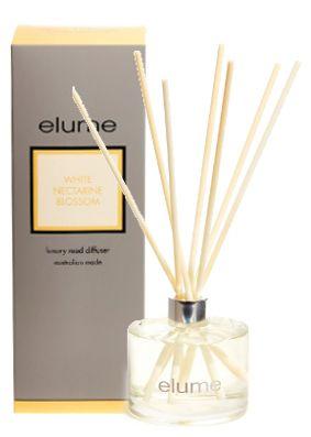 Elume Luxury White Nectarine Blossom Diffuser