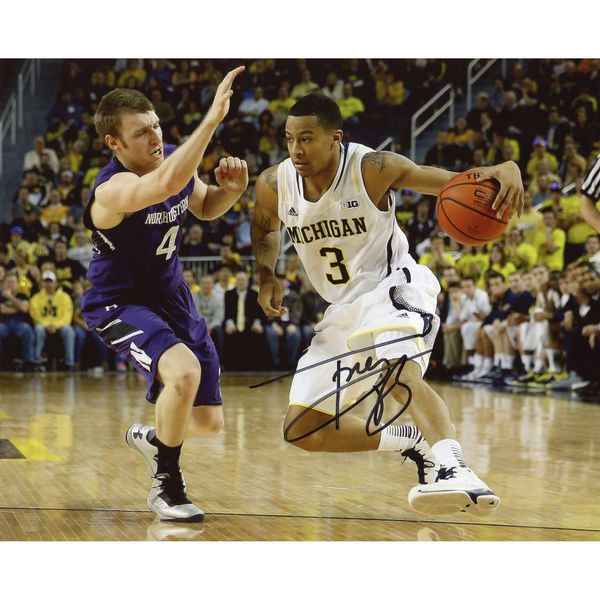 "Trey Burke Michigan Wolverines Fanatics Authentic Autographed 8"" x 10"" Crossover Photograph - $79.99"