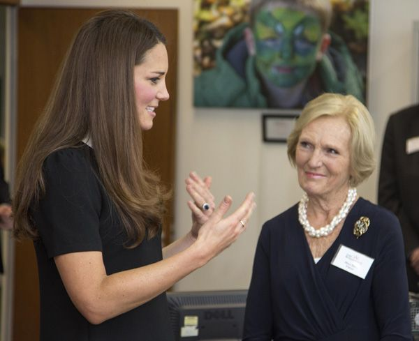 Mary Berry describes moment she met Duke and Duchess of Cambridge as 'surreal' - hellomagazine.com