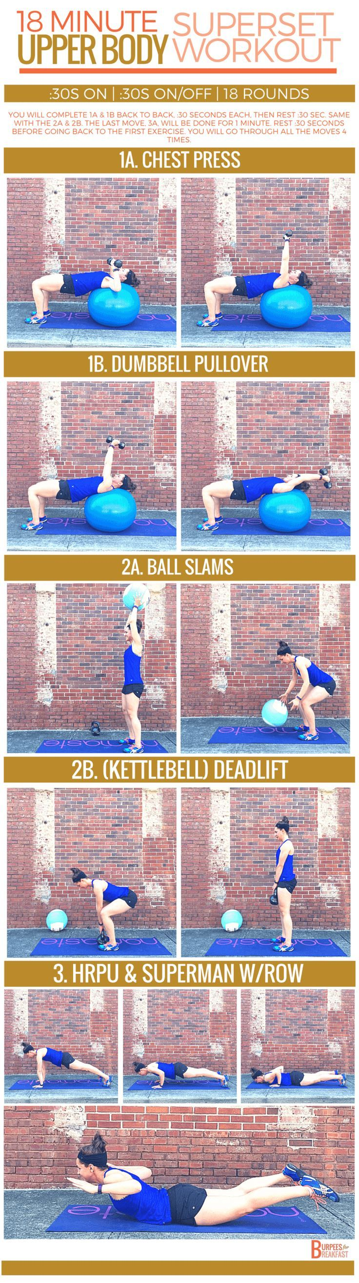 Ready for an upper body superset workout to build strength and muscle definition, just in time for summer?