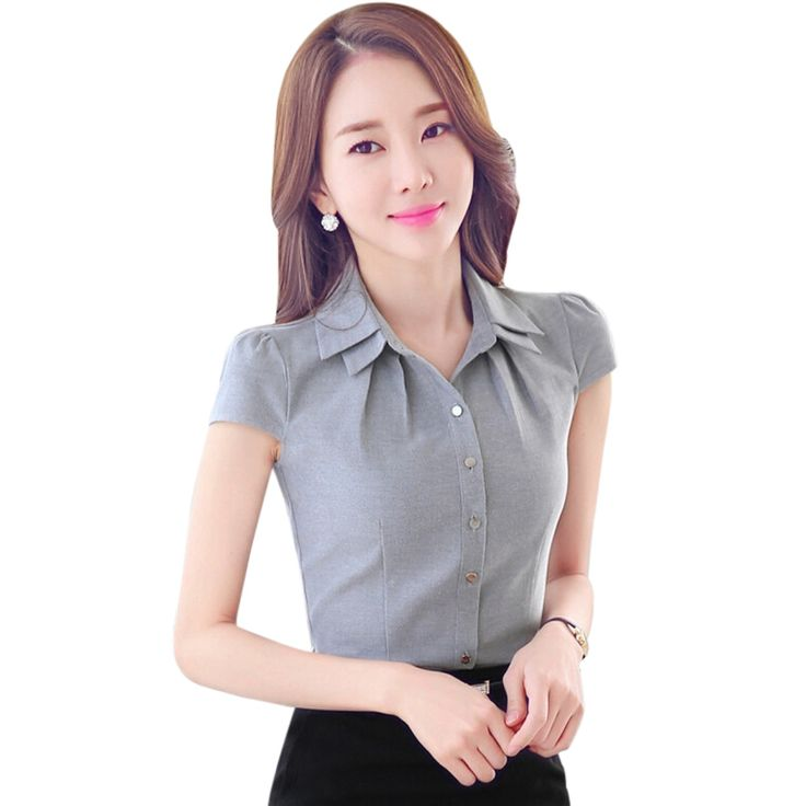 Cheap blouse collar, Buy Quality blouse denim directly from China blouse design Suppliers: Elegant Women's Petal Sleeve shirt OL Formal…