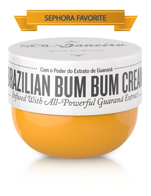 Brazilian Bum Bum Cream is our absolutely addictive full body cream inspired by the Brazilians' favorite feature—the bum bum (or as you…
