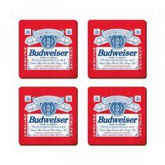 Porta Copos Budweiser 4 Unidades - Confraria 77