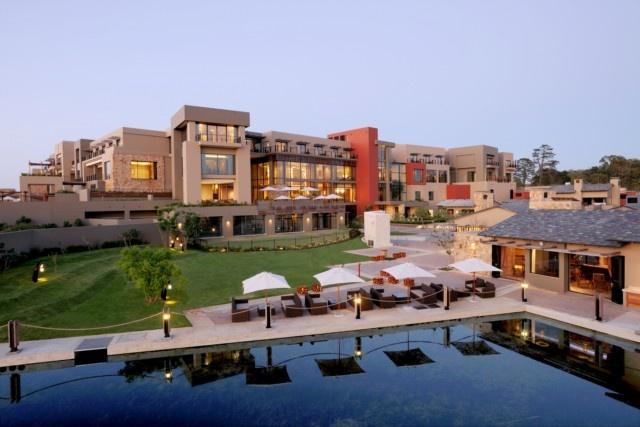 The luxurious 100 room Hyatt Regency Oubaai Golf Resort . http://www.south-african-hotels.com/hotels/hyatt-regency-oubaai/