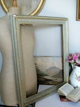 antique picture frame frameantiquevintageshabbychichomeinteriors sold