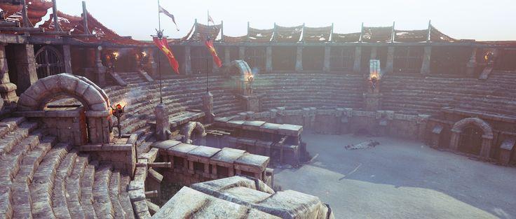 ArtStation - Gladiator Arena, Nikola Damjanov