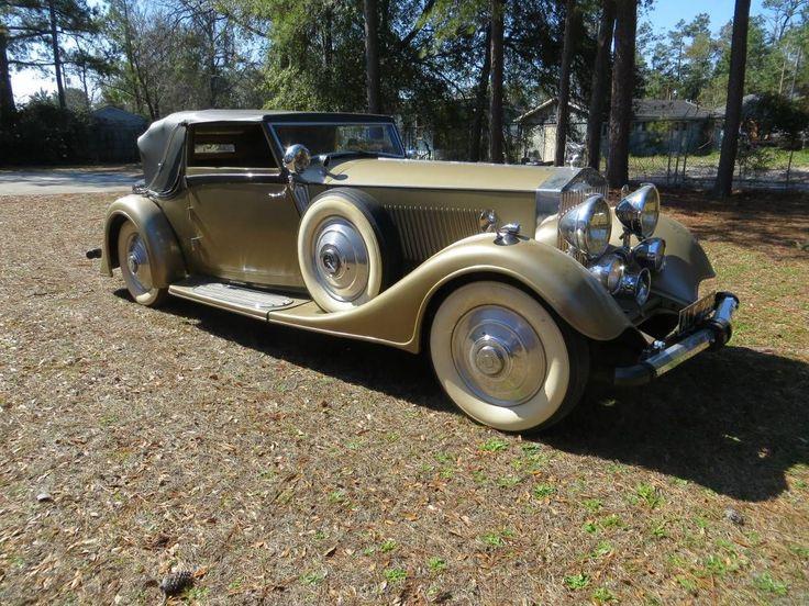 1933 Rolls-Royce Phantom II Continental Drophead