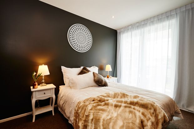 Quinn and Ben's Master Bedroom - The Block NZ 2014 - Visit blog.curate.co.nz for links to all products