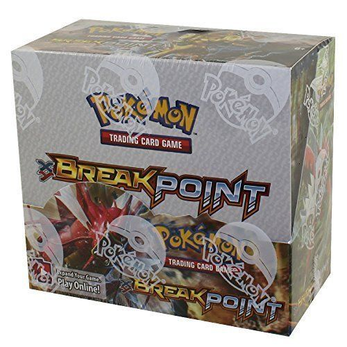 Pokemon Booster Box XY Breakpoint 36 Booster Packs - 360 cards + 36 Online Codes #Pokemon