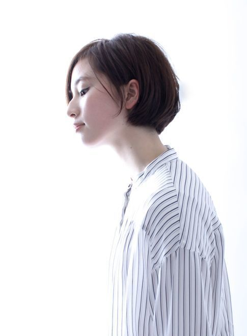 【ボブ】☆上質な大人のシンプルショートボブ☆/BEAUTRIUM 表参道の髪型・ヘアスタイル・ヘアカタログ|2016春夏