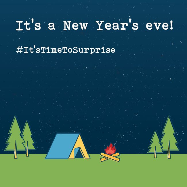 The town is submerged in #NewYear celebration... It's a perfect time to surprise a loved one! #fernsnpetals #ItsTimeToSurprise #happynewyear #gifts #surprise
