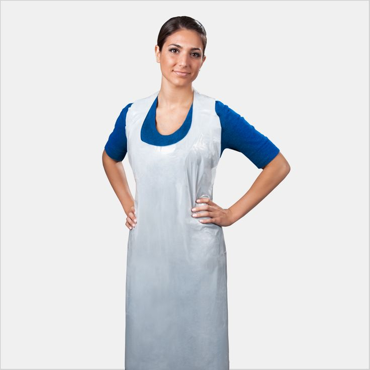 This fluid-impervious poly apron comfortably protects wearers from fluids and cross-contamination when performing various multipurpose functions. Fashioned in a bib style with waist ties for a comfortable and universal fit. * Manufacturing certified ISO 9001 for Quality Management Systems. * Manufacturing certified ISO 13485 for Quality Management Systems for Medical Devices.