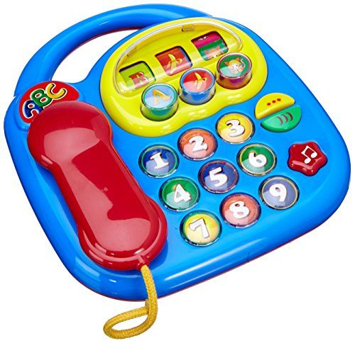 ##SimbaToys #toys #kids #toddlers #Infants #colorful #playtime #phone #amazonindia Simba ABC Telephone (Colors May Vary) Simba http://www.amazon.in/dp/B001OQP7ZM/ref=cm_sw_r_pi_dp_yPvDwb03ZS0WZ