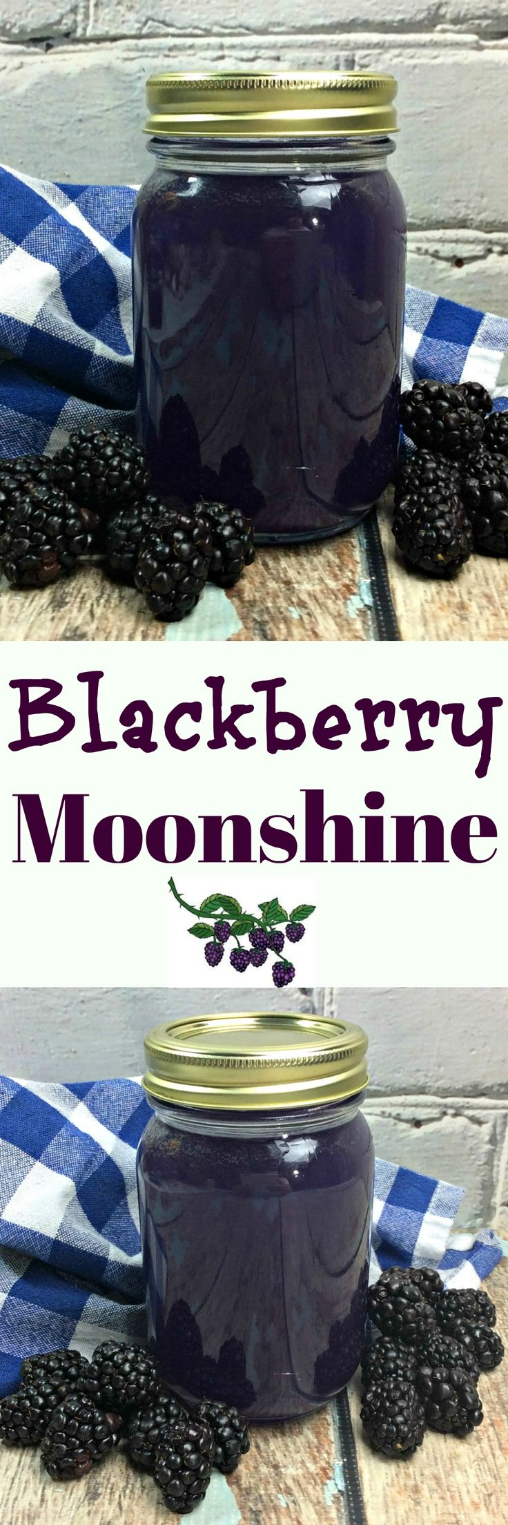 Blackberry Moonshine!