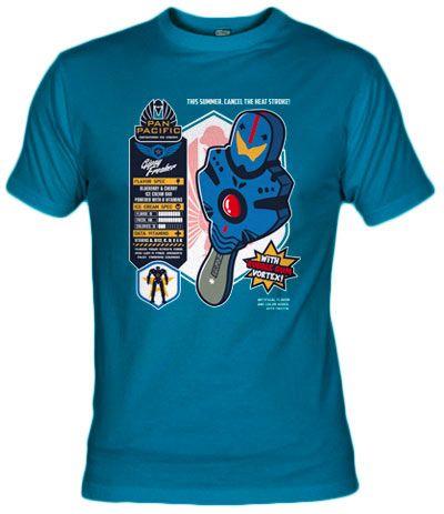 Camiseta Camiseta Pacific Ice Cream Gipsy Fresher por Olipop - Peliculas Actuales - Camisetas Cine -