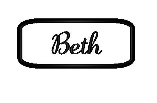 Hey, I found this really awesome Etsy listing at http://www.etsy.com/listing/119295196/embroidered-felt-name-patch-with-black