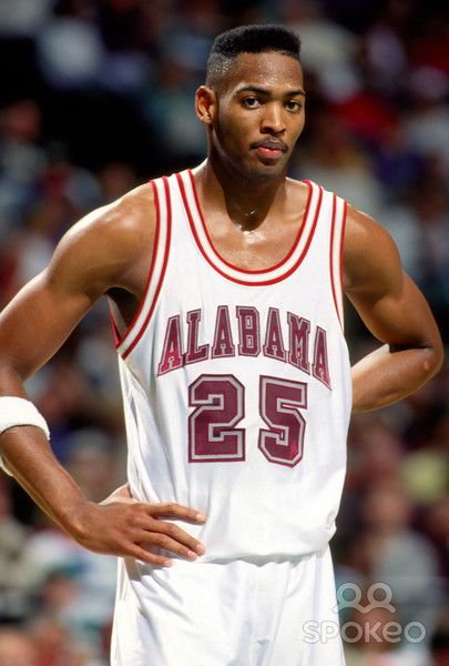 Former Alabama basketball player Robert Horry (1988 - 1992). Went on to play on the NBA for the Houston Rockets, LA Lakers, and San Antonio Spurs. Has 8 NBA championship rings...