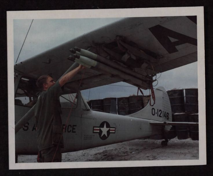 USAF Cessna O-1 Bird Dog....