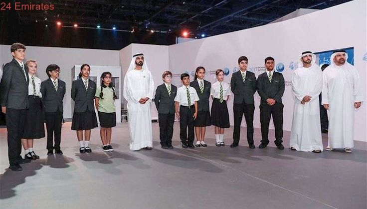 Sheikh Mohammed attends Knowledge Summit