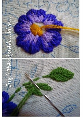 Bigú Handmade: Bordado de Servilleta...: Embroidery, Needlework, Bordado Bigú, Bordados Embroidery, Embroidery Stitches, Bigú Handmade, Embroidery, De Servilleta