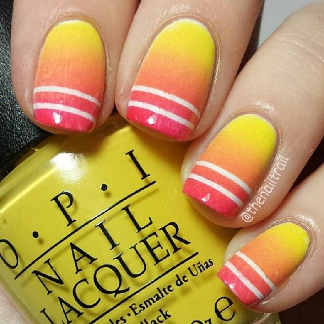 thenailtrail #nail #nails #nailart  die vind ik echt vet cool voor de echte hele hete zomer