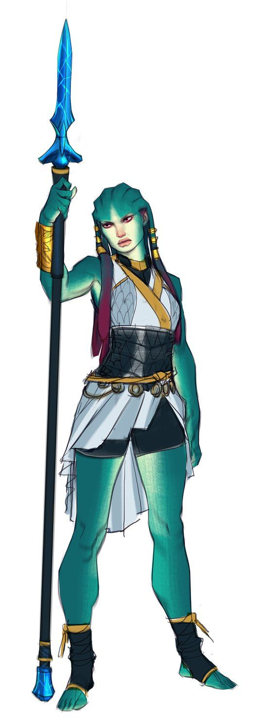 Legaia the Siren color research by Makkon on DeviantArt