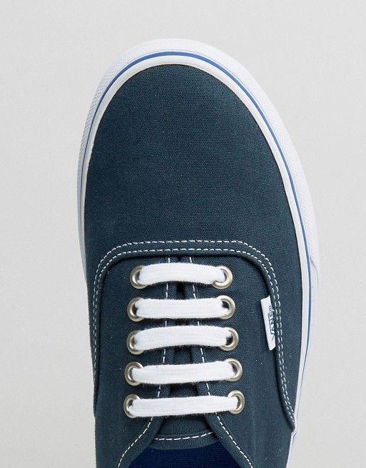 Vans | Vans Authentic - V004MLJPV - Scarpe da ginnastica di tela blu