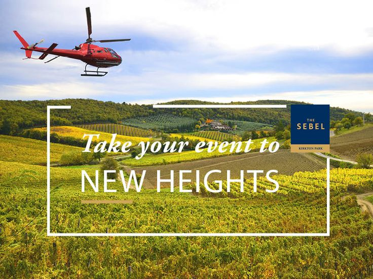 Hunter Valley Conference Venues at The Sebel Kirkton Park. We have helicopters!!!!
