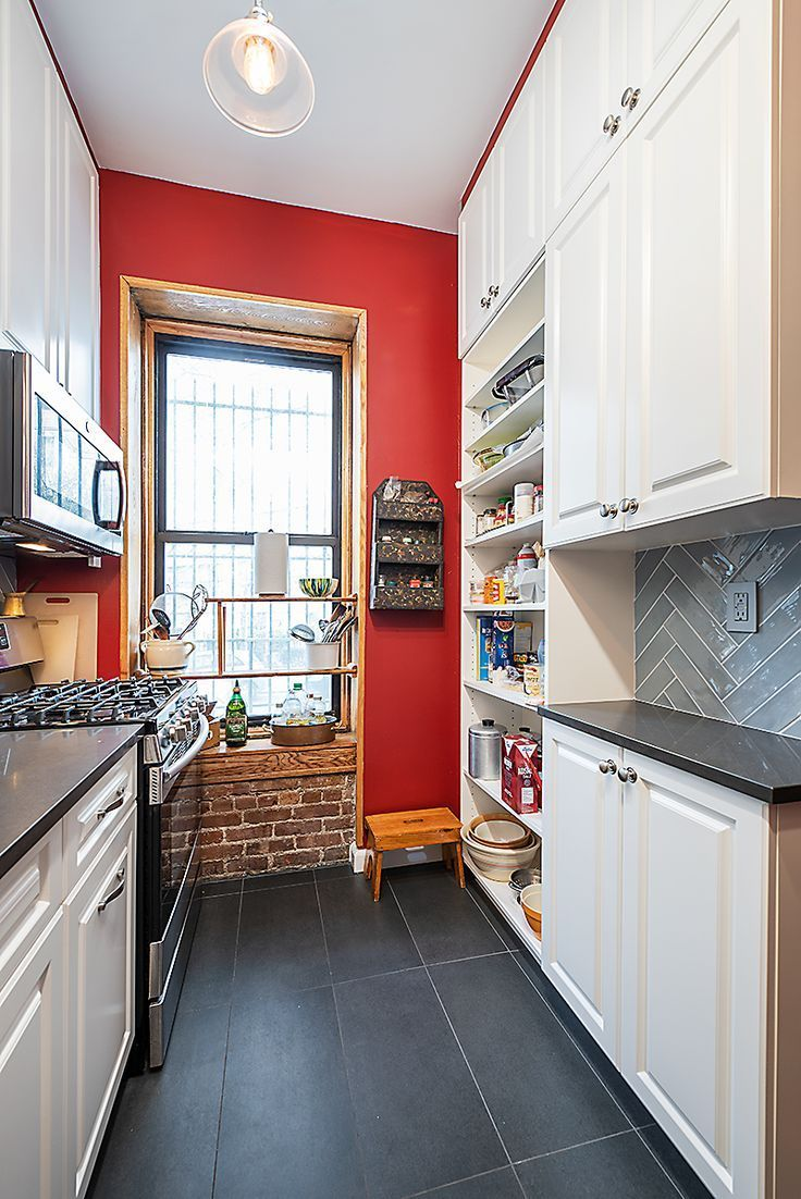 Complete Bathroom And Kitchen Remodeling In Nyc In 2020 Red Kitchen Walls Accent Wall In Kitchen Red Accent Wall