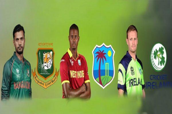 Timeline Of Tri Series Matches In Ireland 2019 Tri Series Cricket Teams Tri