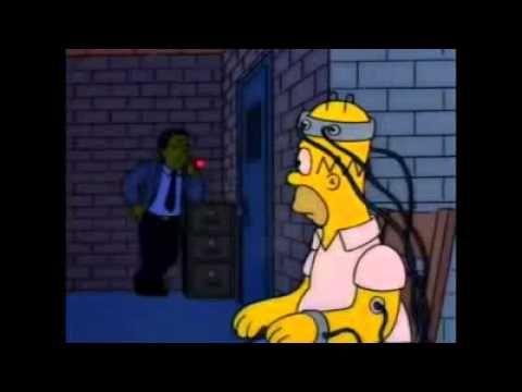 homer Simpson detecteur de mensonge - YouTube