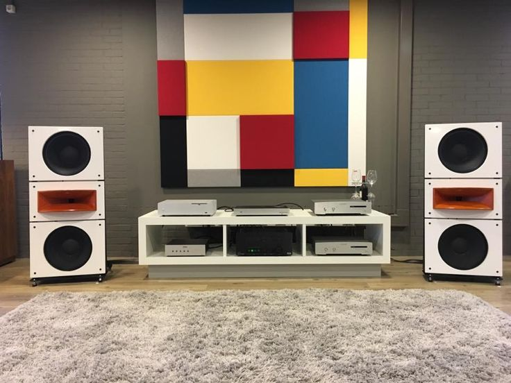 Trio15 PAP-Horn1 Open Baffle Speakers by PureAudioProject at Streaming4Home