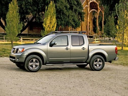 2010 Nissan Frontier Gasoline automatic pickup